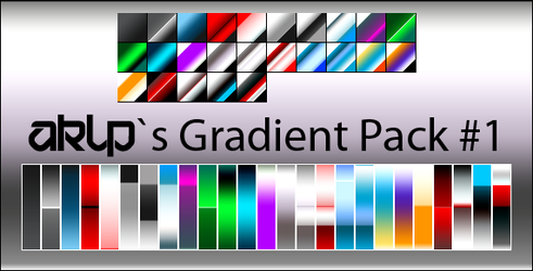 AKLPs Gradient Pack 1 by AKLP