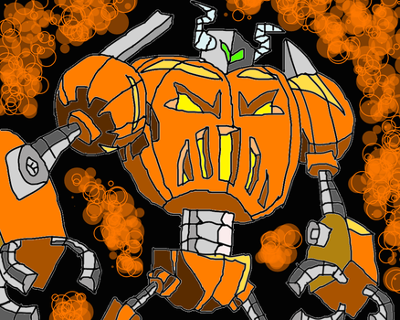Halloween Meanies 26 by conlimic000