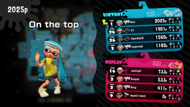 My first in Splatoon 2 by XUnlimited