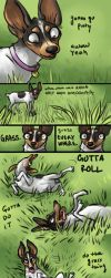 do the grass thing by Artisticaviary