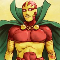 Daily Sketches Mister Miracle by fedde