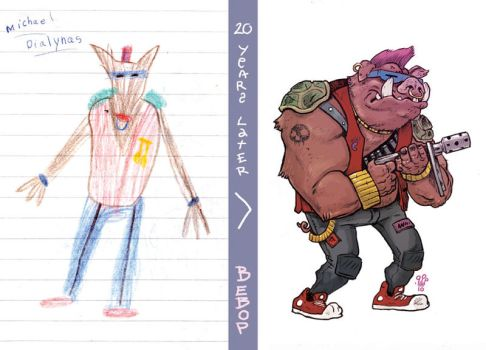 20 Years Later: BEBOP by TheWoodenKing