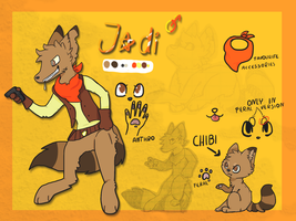 Jodi Reference sheet by VitaCanem