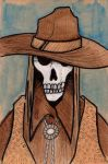 Skull Western by A-Fornerot