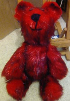 Red bear by davidanaandrake