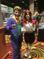 WinterCon 2015: Joker and Ms. Martian by ShawnAtkinson