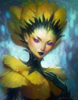 Yellow Bloom by thienbao