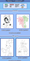 Commission Prices by Bluukio
