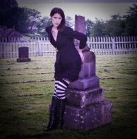 cemetary girl by unsanemembrane