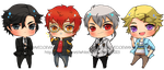 MYSTIC MESSENGER Chibi Fanart by SinEngraved