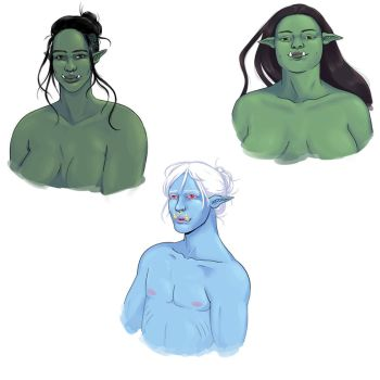 Orc Compilation by rimonade