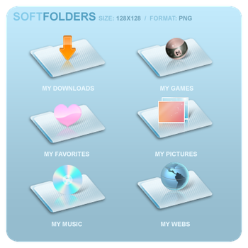 soft FOLDERS by uriel