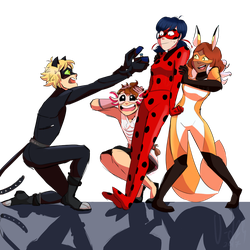 Miraculous Squad by Kibrii