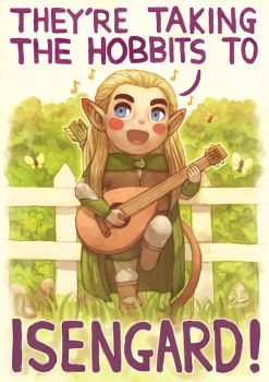 They're taking the Hobbits to Isengard by Ry-Spirit