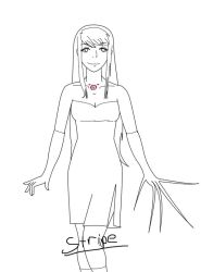 Homunculus Winry Lineart by Teh-Stripe