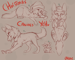 Christmas YCH/closed by Okoe