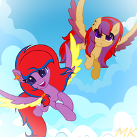 Sisters time! by xXMaiKhanhFlareXx