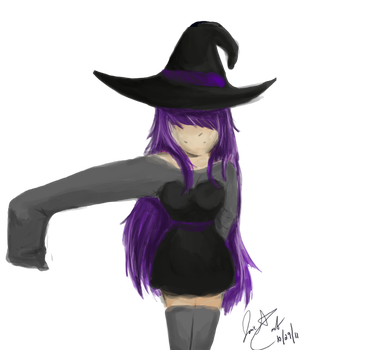 A Witch by ll-Wolfie-ll