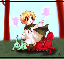 .+Chibi england and his friends+. by Bjorkan
