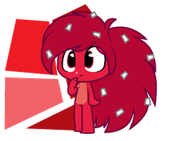 Little Shy Flakes_ Flaky HTF by CheiloQuinones