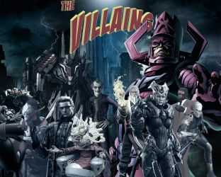 The villains of Video Games by w1haaa