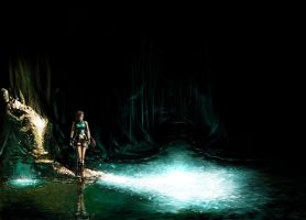 - Tomb Raider - Fanart by the-real-Kamui