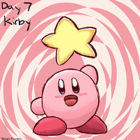 Kirby Tuesday: Smashvember Day 7 by thegamingdrawer
