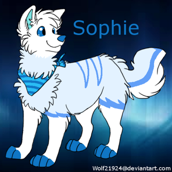 Sophie by wolf21924