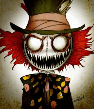 Zombie Mad Hatter by Eilyn-Chan