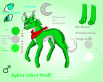 Aylon (the) Wolf by KenotheWolf