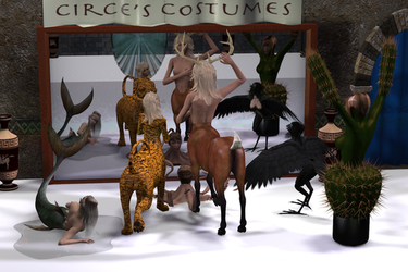 Circe's Costume Shop by Mertail