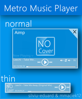 Metro UI : Metro Music Player v2 by Brebenel-Silviu