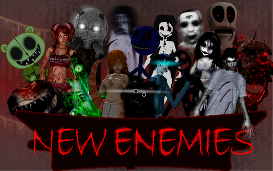 New Enemies Mod - All enemies by SeriousNorbo