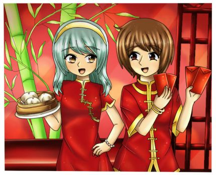 Chinese new year2017 by Ferina-san