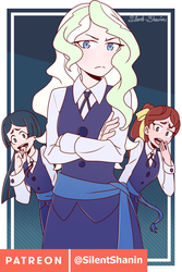[Weekly] Diana, Hannah and Barbara by Silent-Shanin