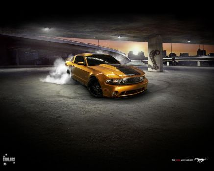 Ford Mustang GT 2010 by TheCarloos