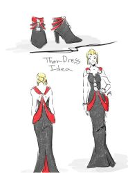 Thor Dress Idea by tamara-robitille
