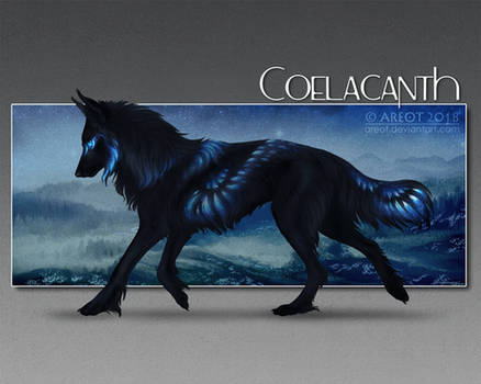 #36 Coelacanth - Sapphire wings by areot