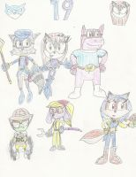 Gift: Wing and the Cooper Gang by mastergamer20