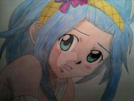 Levy full color by HappyBleuDragon