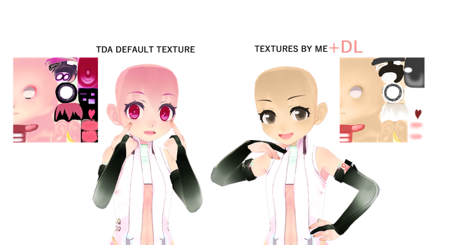 [MMD] Face Texture Child by Yviie + DL by Yviie