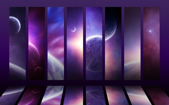 Cosmos collection IV - Purple by Funerium