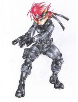 Sally Snake, Genome Soldier by bittenhard