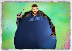 Captain Boomerang Balloon by rumpuboy4
