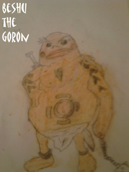 Beshu The Goron by kingofnintendo9