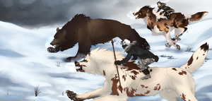 The Chase (Rite of Hunt) by meganeffingsandbox