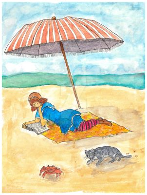 Emma And Sam: A Day at the Beach by RKlingbeil
