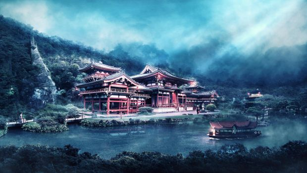 Zen Temple by Baku-Project