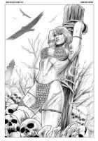 Red Sonja 43 Cover by FabianoNeves