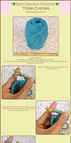 Triple Crochet Tutorial by moofestgirl